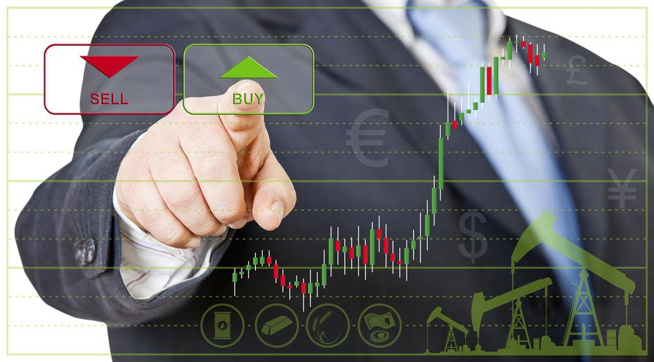 Rohölanlagen und Rohstoffe an der Börse