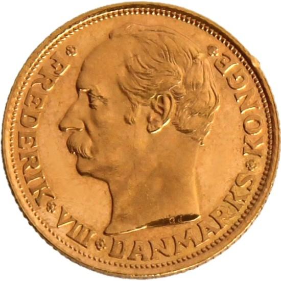 Foto der Vorderseite einer Krone Goldmünze
