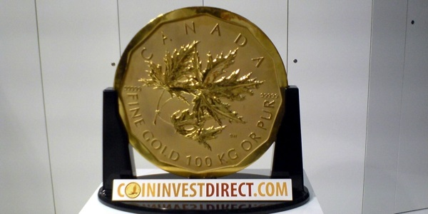 100 Kilo Goldmünze